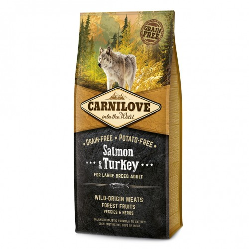 Carnilove Adult Salmon & Turkey - 12kg