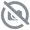 Coussin Relax à froufrous rose - 50cm